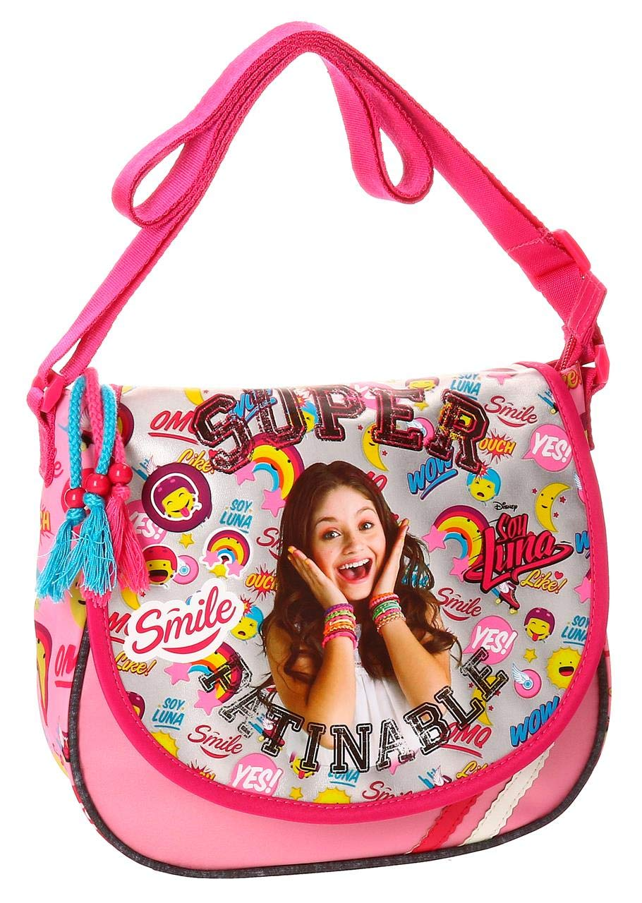 Disney Soy Luna Smile Sac bandouliè re, 23 cm, 4.01 liters, Multicolore (Multicolor) 3475151