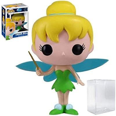 Funko Pop! Disney Series 1: Tinker Bell Vinyl Figure (Includes Compatible Pop Box Protector Case): Toys & Games