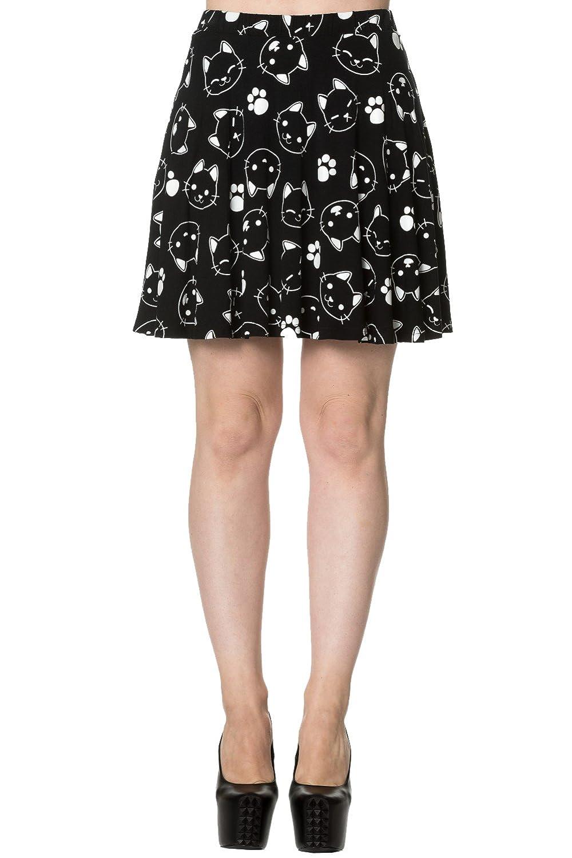 Banned Purrrrfect Kitty Skater Skirt