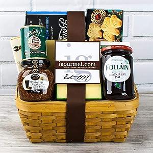 igourmet Irish Classics - Gourmet Gift Basket