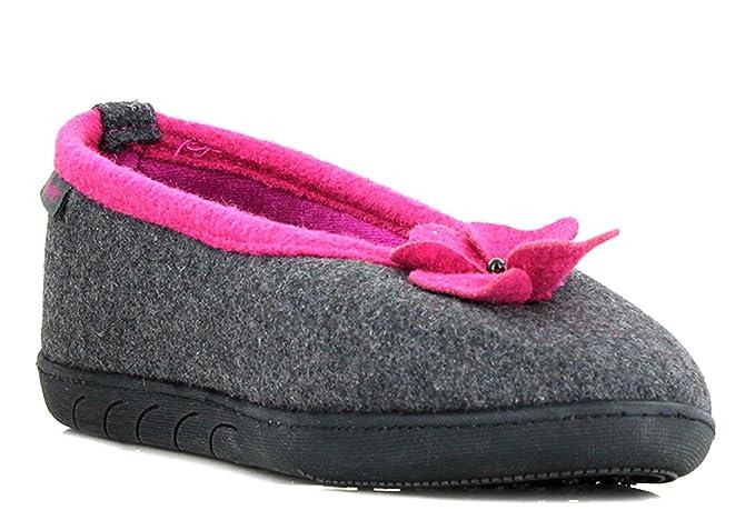 Zapatillas bailarinas mujer Isotoner 36: Amazon.es: Zapatos y complementos