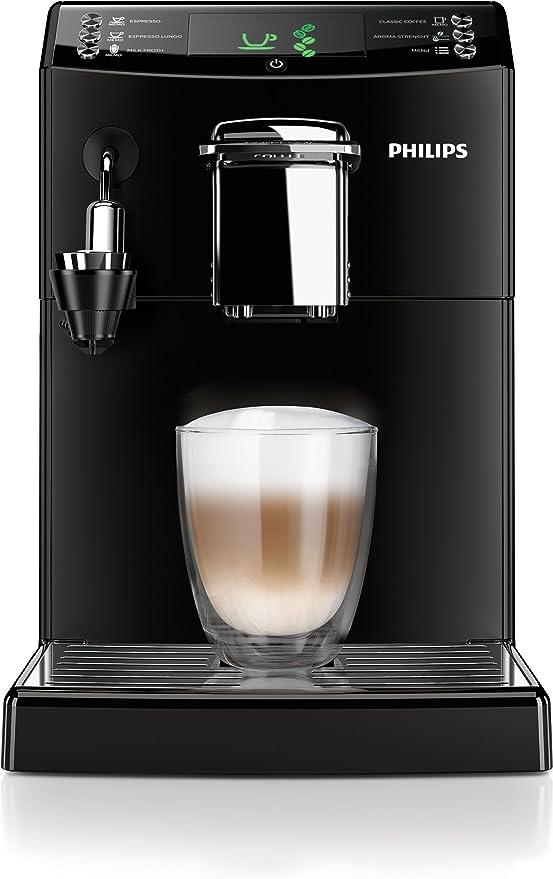 Philips Serie 4000 - Cafetera espresso super automática, con ...