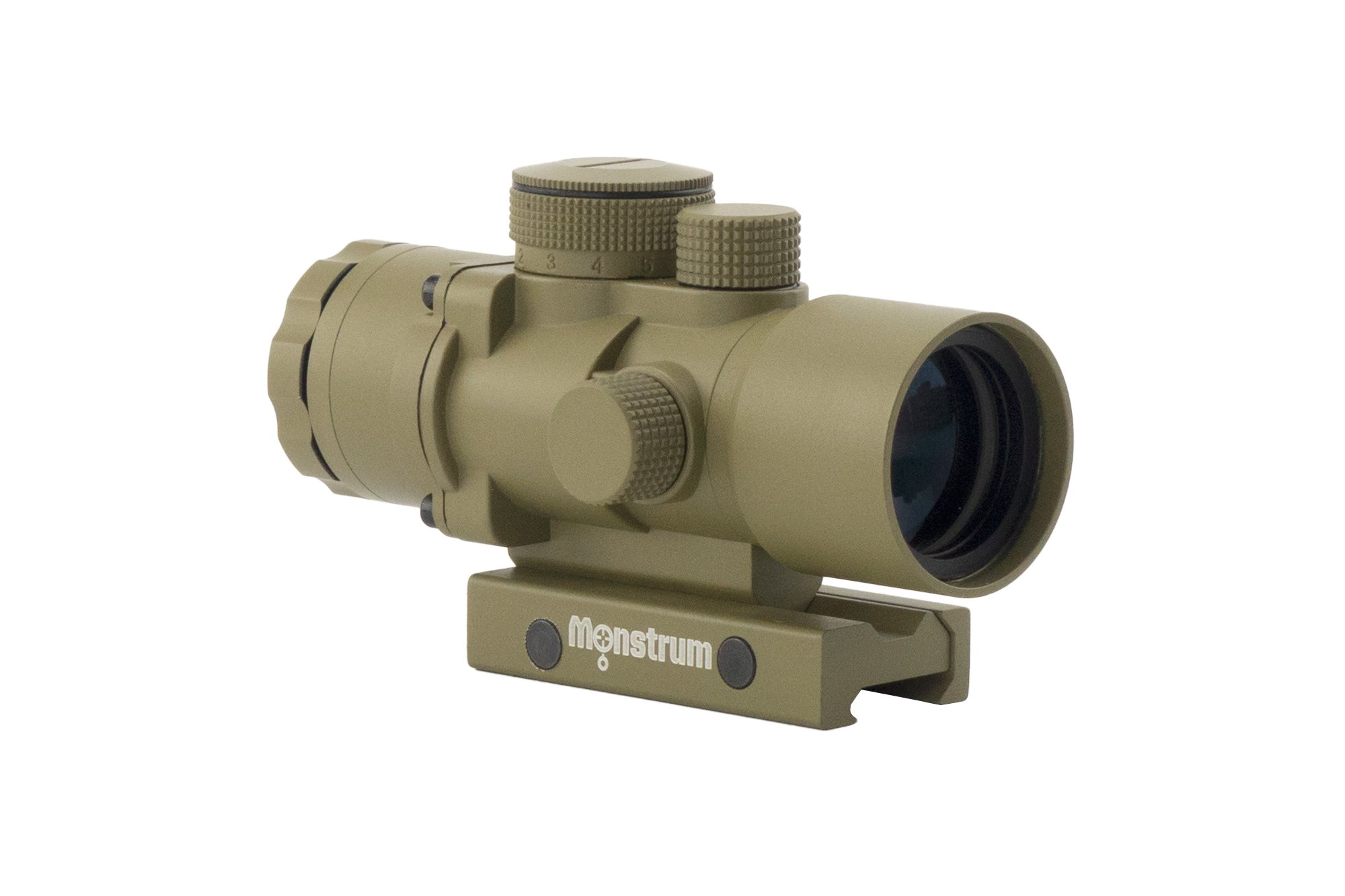Monstrum Tactical S330P Ultra-Compact 3x Prism Scope (Flat Dark Earth)