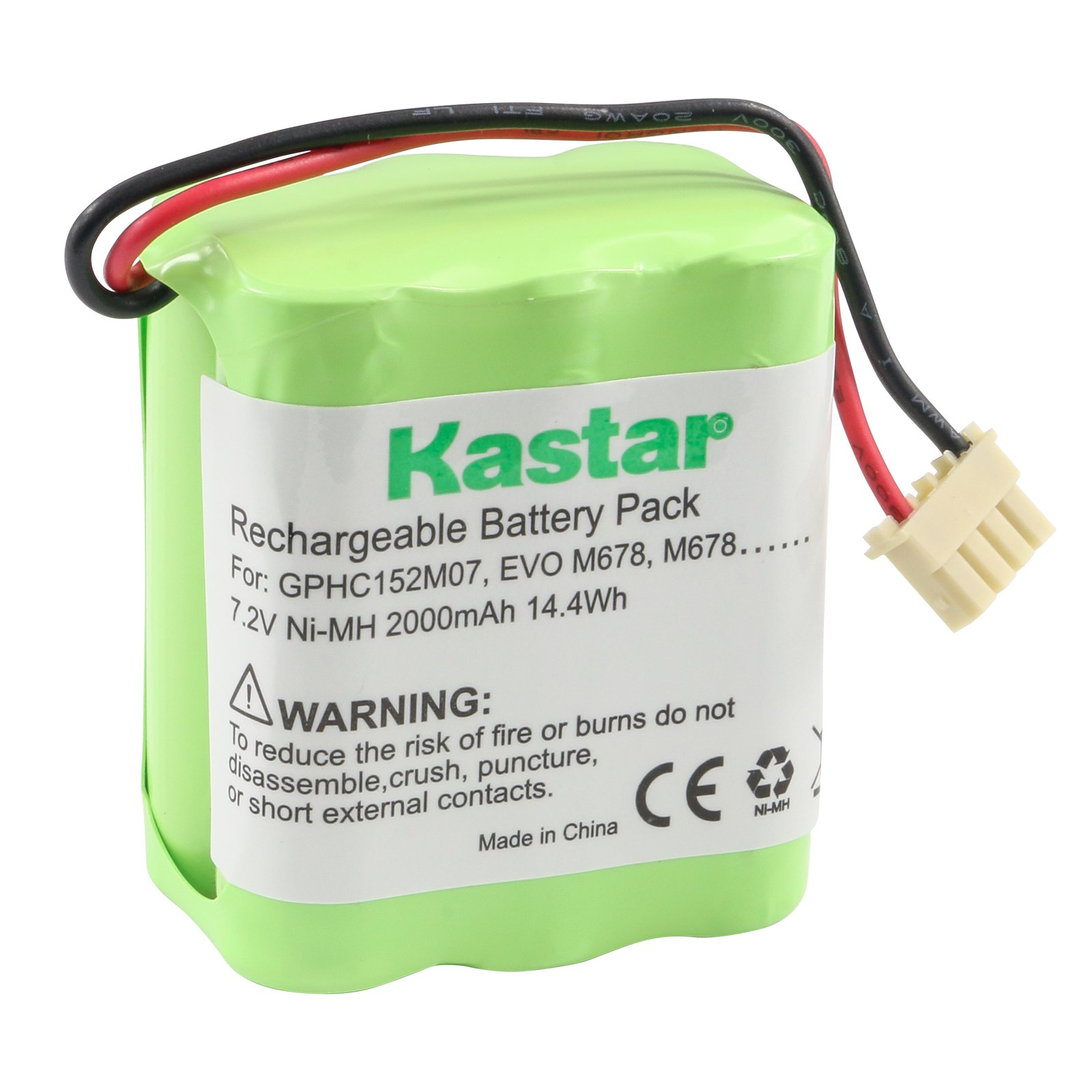 4205 Mint 4200 5000 series 7.2V Replacement Battery for Dirt Devil EVO M678