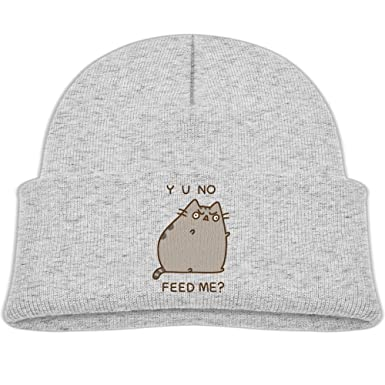 Pusheen The Cat Yo No Feed Me Double Layers Sleeve Cap To Keep Your Little Ones