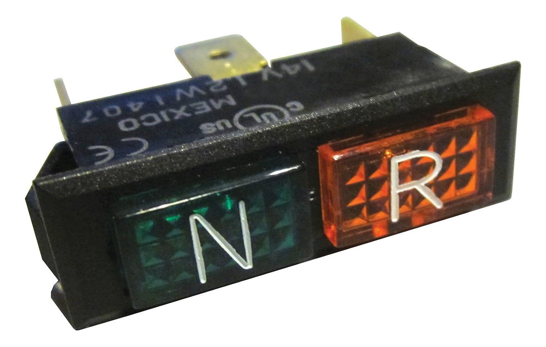 Polaris Xplorer Xpedition Xpress Neutral Reverse Light Indicator Bulb - 4040054 Quad Logic