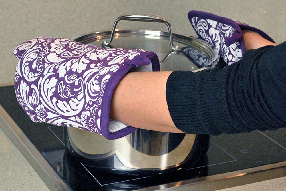 DII Kitchen Washable Resistant Baking Eggplant Image 3