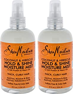 product image for Shea Moisture Coconut & Hibiscus Hold & Shine Moisture Mist Pack Of 2, 8 Oz