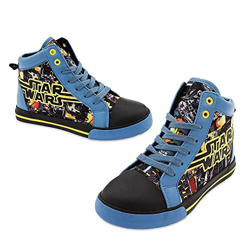 Star Wars Sneakers >> Amazon Com Star Wars Kids Sneakers 8 Toddler Black Walking