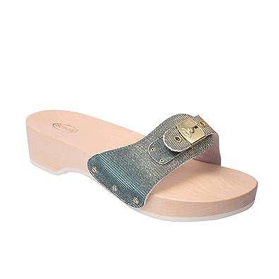 Scholl Damen Holzsandalen PESCURA Heel: : Schuhe