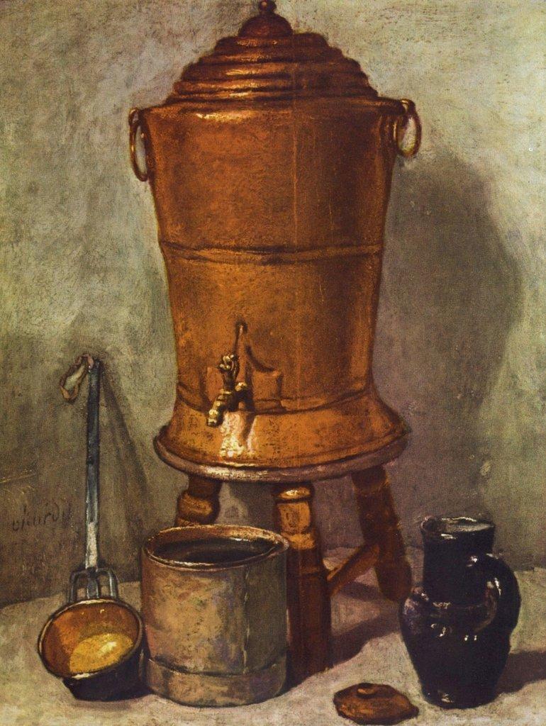 Lais Puzzle Jean-Baptiste Siméon Chardin - Der Wasserbehälter 2000 Teile