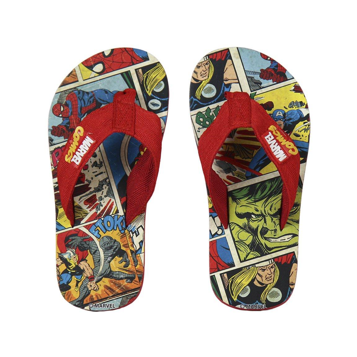 Cerd/á Chanclas Para Ni/ño Marvel Comics Super Heroes Talla 35
