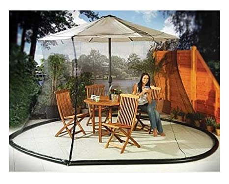 Beautiful Sid Trading Umbrella Mosquito Net Canopy Patio Set Screen House Black (11)
