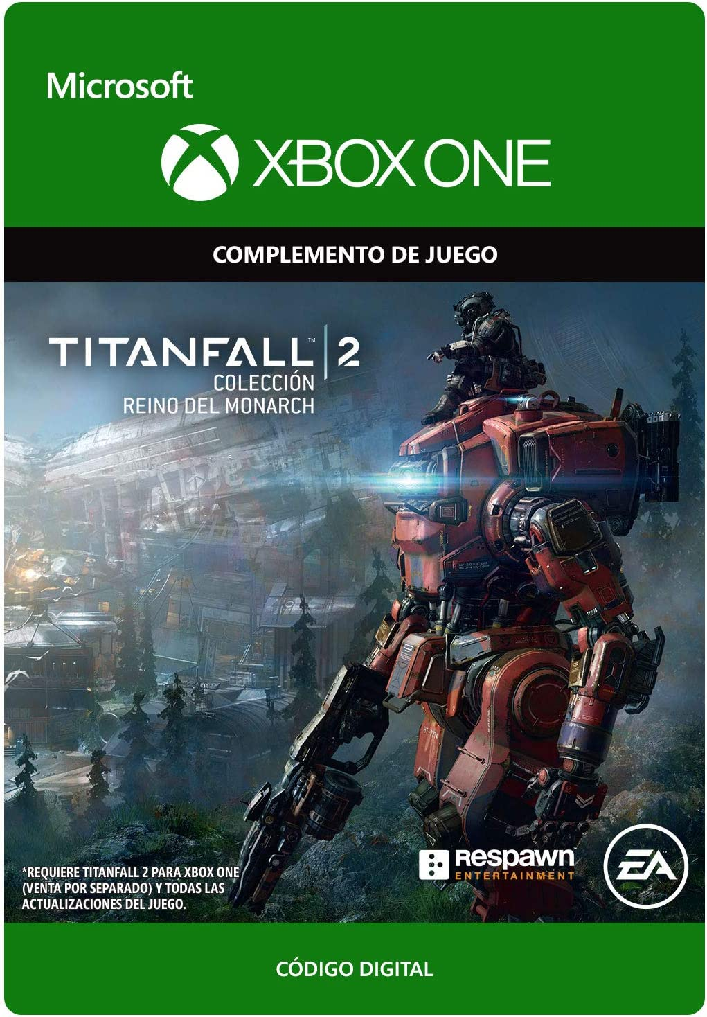 Titanfall 2 Monarchs Reign Bundle | Xbox One - Código de descarga ...
