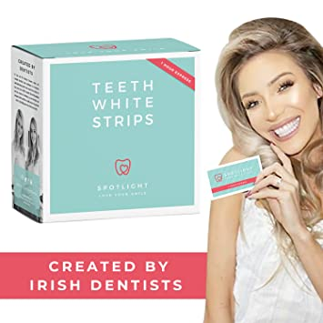 Teeth Whitening Strips Developed by Irish Dentists with Minimal Sensitivity  - Spotlight Whitening