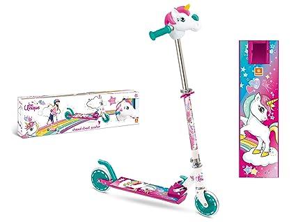 Amazon.com: Mondo-28328 Unicorn 28328 - Patinete, color rosa ...