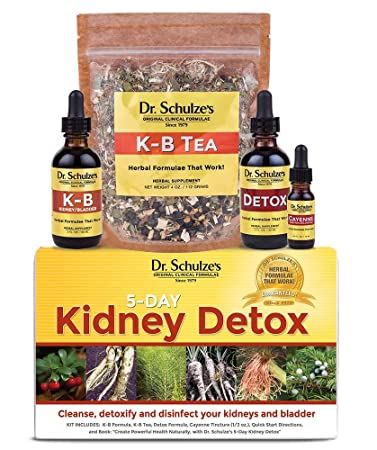 Dr. Schulze's | 5-Day Kidney Detox | Natural UTI Remedy | Cleanses &