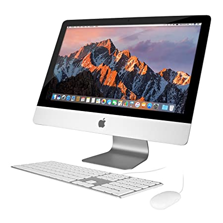 "Apple I Mac 21.5"" 2.7 G Hz Core I5 (Me086 Ll/A) All In One Desktop, 8 Gb Memory, 1 Tb Hard Drive, Mac Os 10.12 Sierra (Refurbished) by Apple"