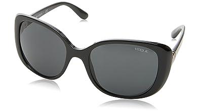 Amazon.com: Vogue Mujer inyectado mujer rectangular anteojos ...