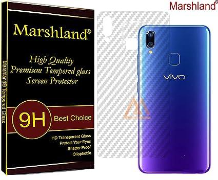 Marshland Vivo Y95 Back Screen Guard Flexible Protector Cover (Transparent)