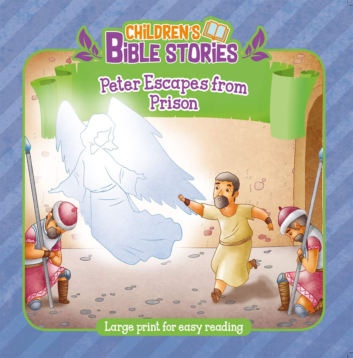 Peter Escapes From Prison (Children's Bible Stories): John ...
