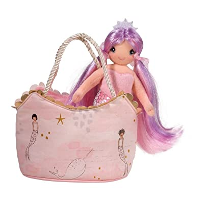 Douglas Sassy Pet Sak - Pink Mermaid: Toys & Games