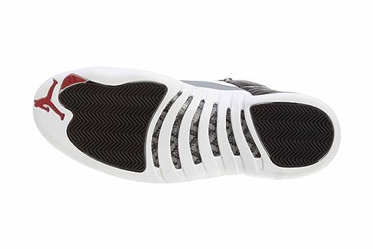 ... 130690-001  best website 4f675 7e5b4 Amazon.com NIKE Mens Air Jordan 12  Retro Playoff Leather Basketball ... 49136b74802