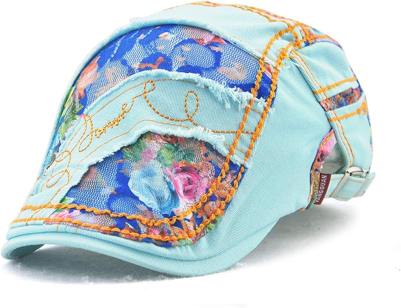 Summer Women's Newsboy Hat...