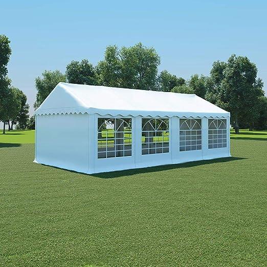 honglianghongshang Jardín Artículos de Exterior Estructuras de Exteriores Carpa de jardín de PVC 4x8 m Blanco: Amazon.es: Hogar
