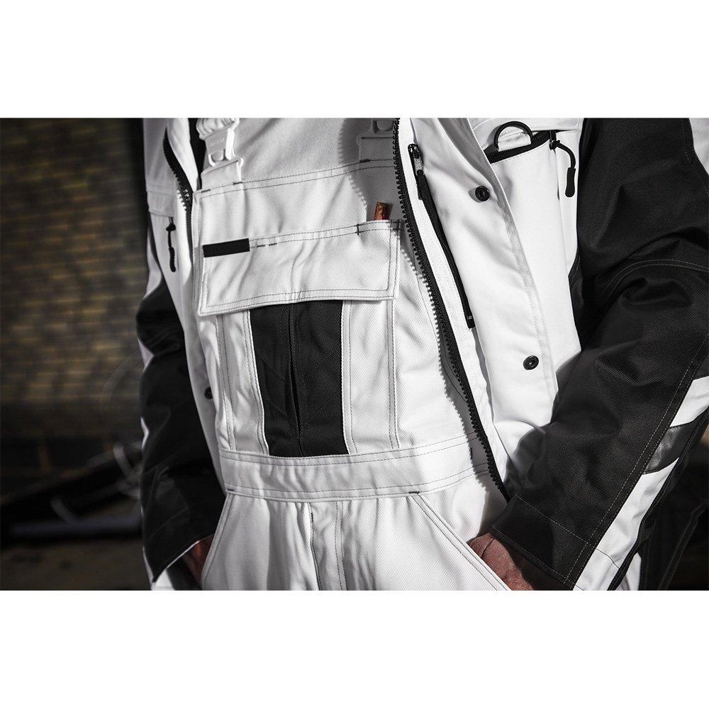 Mascot 12035-211-0618-4XL''Frankfurt'' Pilot Jacket, 4X-Large, White/Dark Anthracite by Mascot (Image #4)