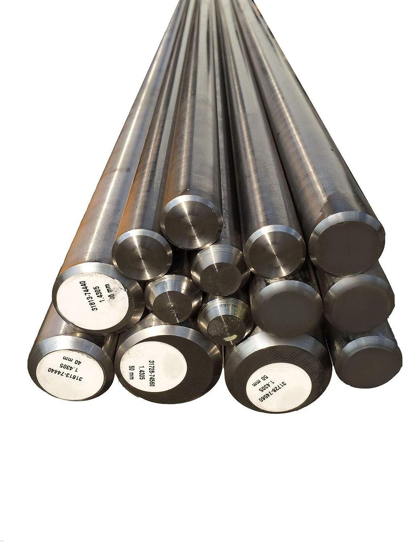 Varilla redonda de acero inoxidable V2A, perfil redondo, acero inoxidable