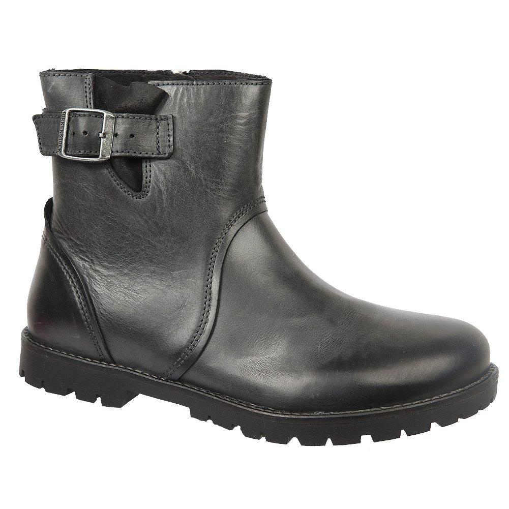 Birkenstock Women's Stowe Boot B01MU8ZFNE 39 M EU|Black Leather
