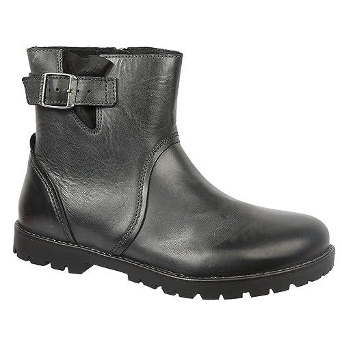 bb27a6e956cb BIRKENSTOCK Stowe Womens Booties  Amazon.co.uk  Shoes   Bags