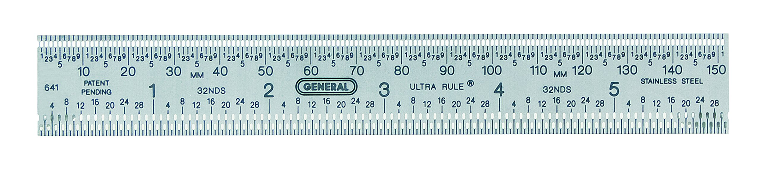 General Tools 641 Ultra Rule Flex Stainless Steel Ruler