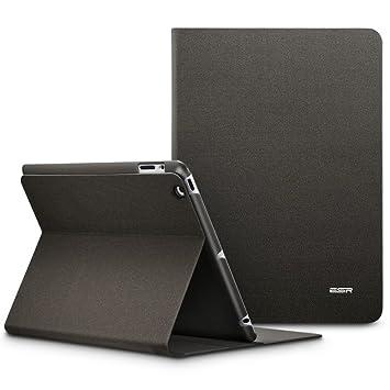 ESR Funda iPad 2/3/4 [Auto-Desbloquear] [Soporte de Horizontal de Multi-Ángulo] Carcasa Prime [Diseño de Folio] de Tela Vaquera para Apple iPad 2/ ...
