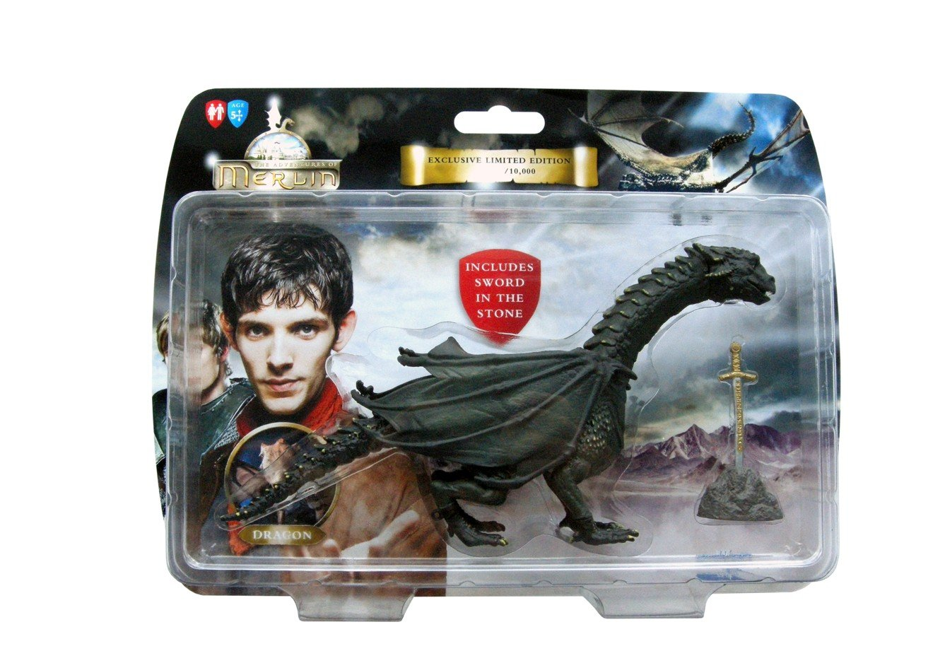 The Adventures of Merlin Dragon Figurine