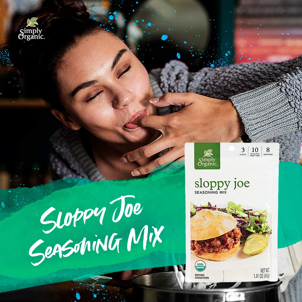 Simply Organic Sloppy Joe, Certified Organic, Gluten-Free | 1.41 oz