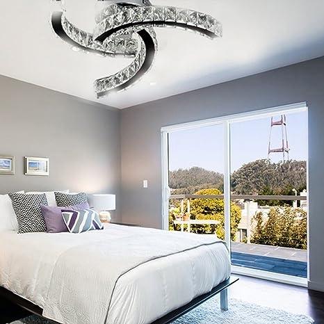 Moderna lámpara de techo de cristal de estilo creativo ...
