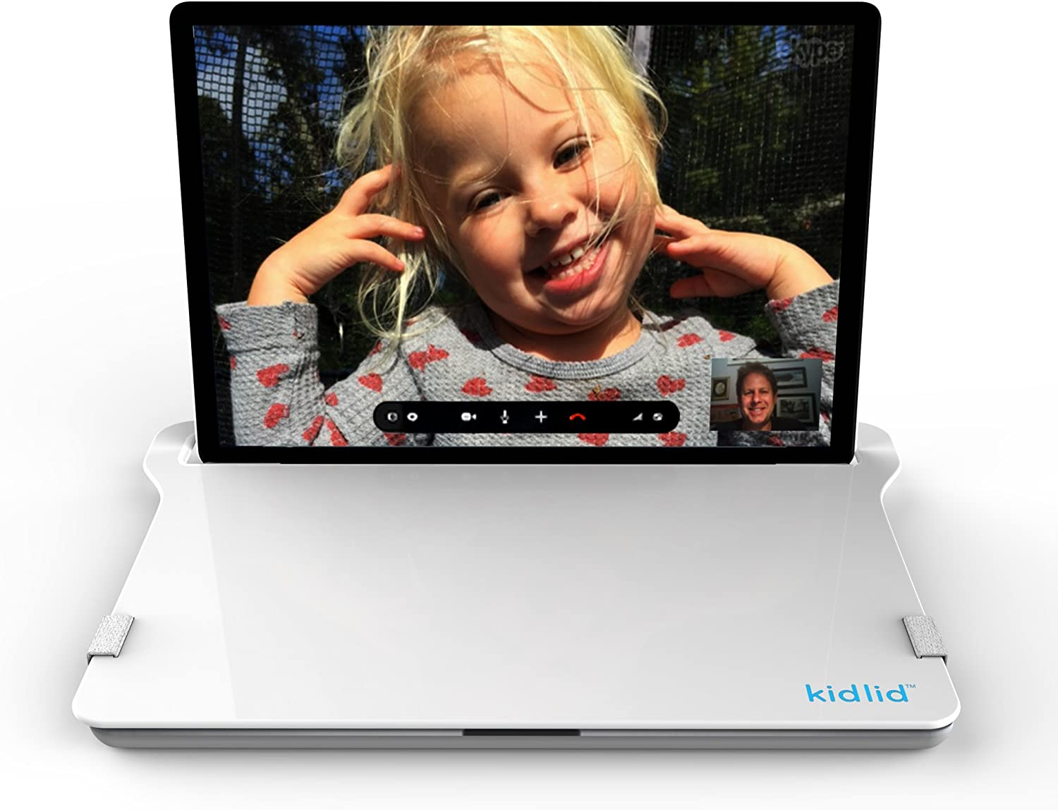 Kid Lid Laptop Keyboard Cover (KLP13WHT)