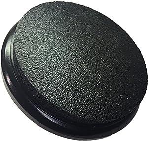 Black Padded Bucket Lid Black Frame/Black Pad by Bucket Lidz 1 Inch Pad