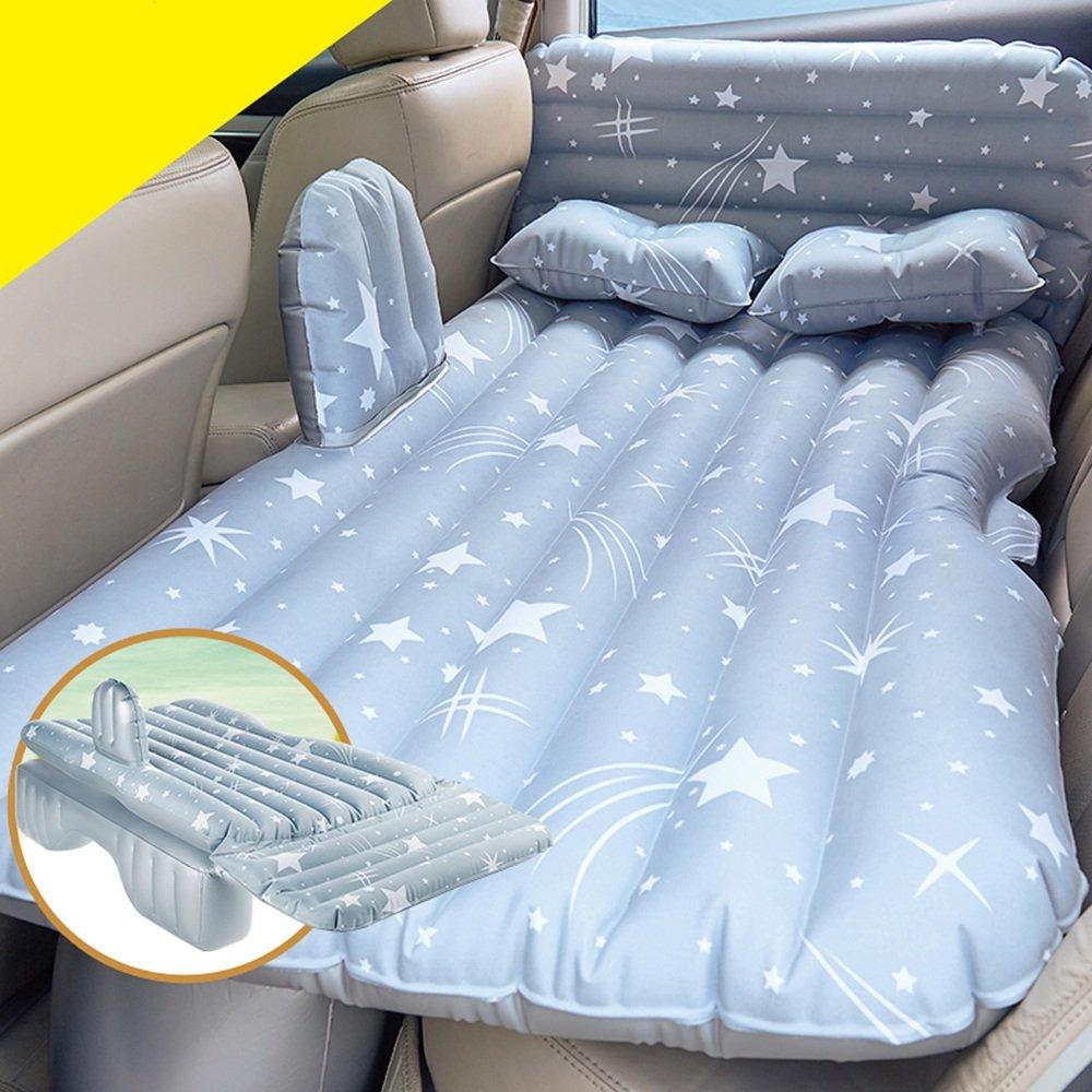 YQQ Selbstfahrender Wagen Auto Aufblasbares Bett Tragbar Im Freien Kampieren Luftmatratze (Farbe : grau, größe : 2)