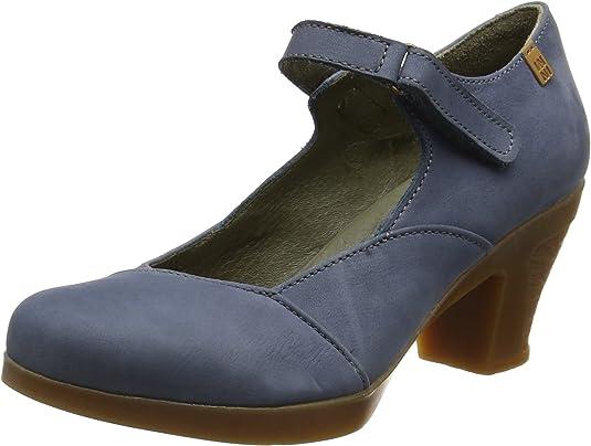 TALLA 39 EU. El Naturalista N588 Pleasant Espiral, Zapatos de tacón con Punta Cerrada para Mujer