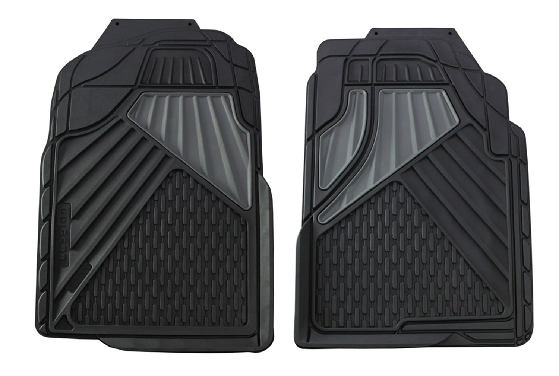 Hopkins 79042 Go Gear Full Size Heavy Duty Beige Floor Mats 2 Piece Set Hopkins Manufacturing