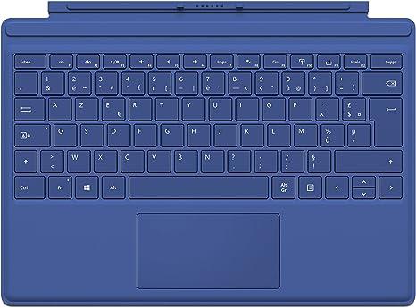 Microsoft QC7-00016 - Funda con Teclado para Surface Pro 4 ...
