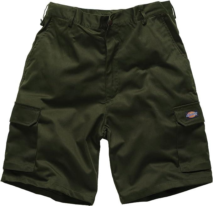 TALLA 50. Dickies–Dickies WD834, pantalones cortos de hombre Grün (olivgrün OL) 50
