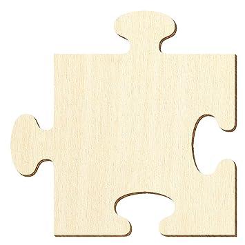 688e44fcdf756c Holzpuzzle Zuschnitte - Holz Puzzle - Größenauswahl