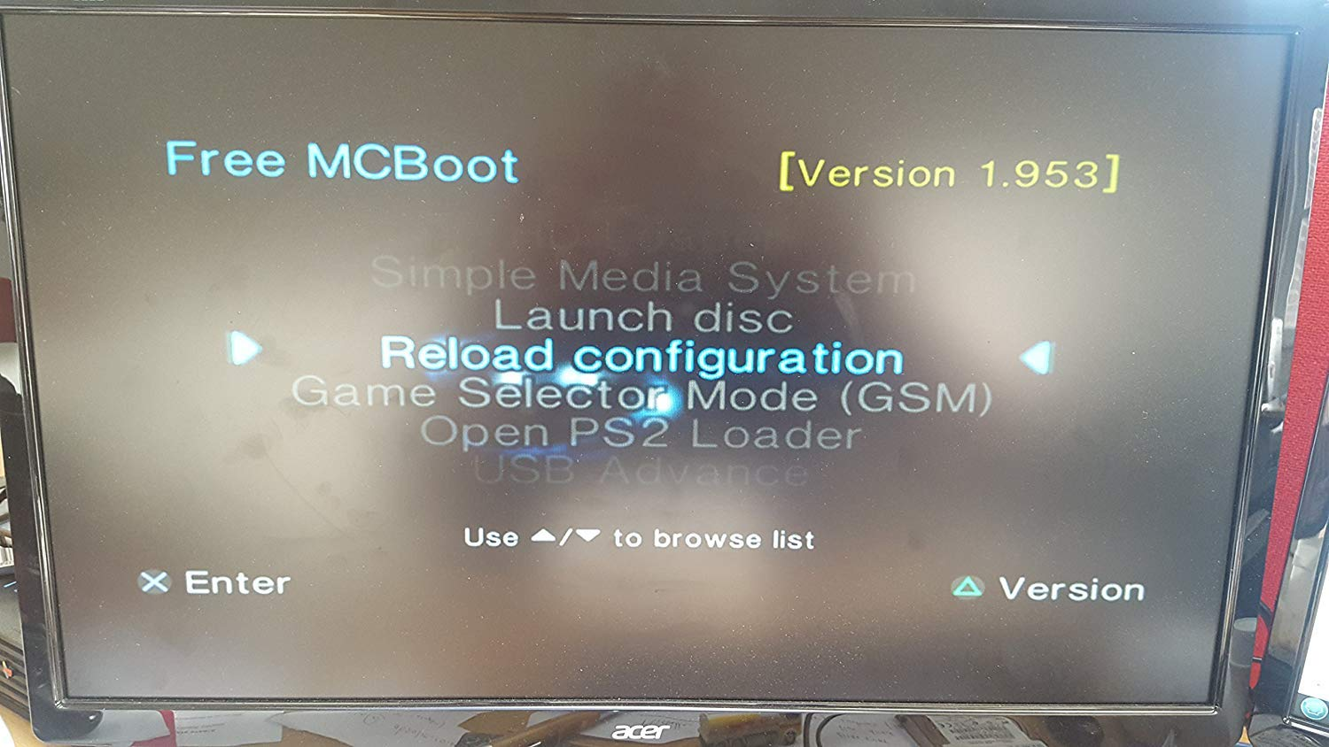 Sony Playstation 2 McBoot FMCB 1 953 PS2 Memory Card 8MB