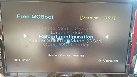 Sony Playstation 2 McBoot FMCB 1 953 PS2 Memory Card 8MB