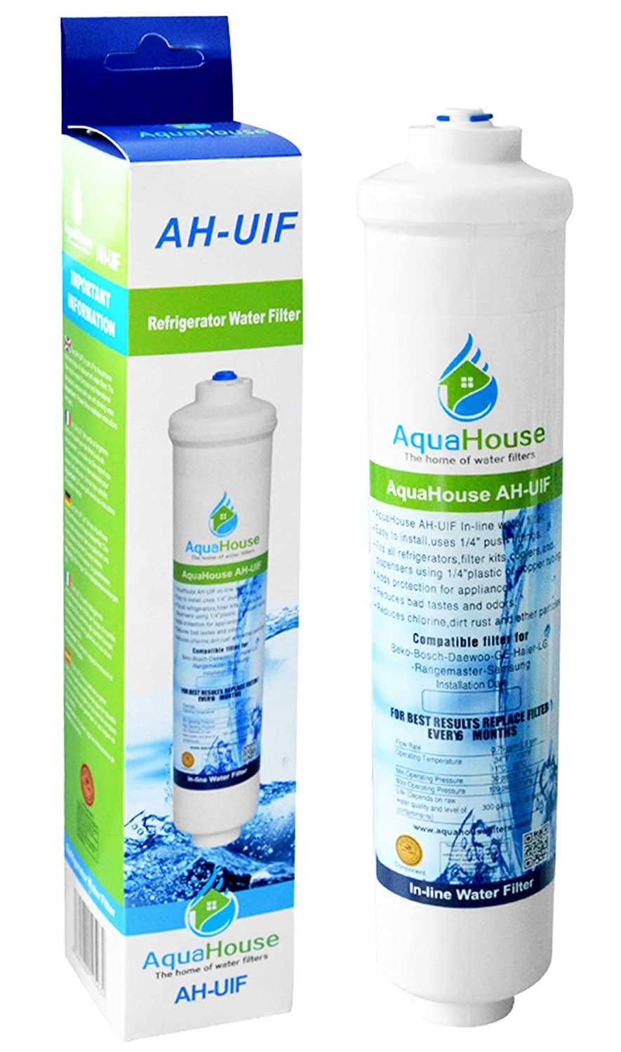 AquaHouse UIF-LA Compatible for Lamona HK1032 water filter cartridge for Howdens filter tap