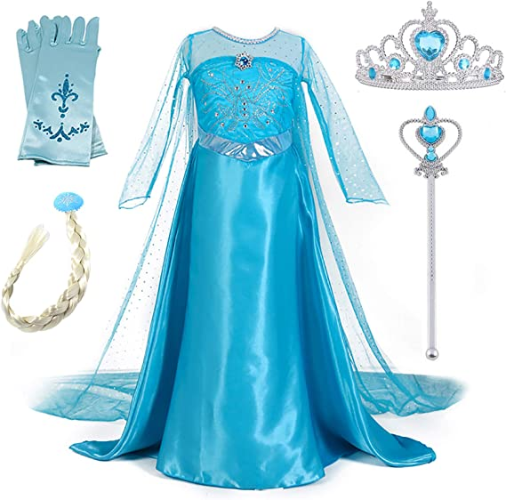 New front Traje congelado elegante reina festiva del nuevo vestido ...